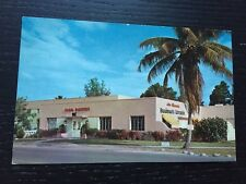 Vintage Postcard Grandmas Kitchen Restaurant Miami Florida Chicken Steak