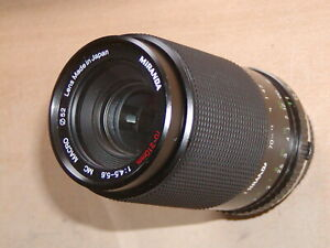 Olympus OM Fit ~ Miranda 70-210mm  Zoom Lens