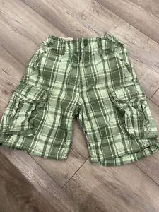 Gap  Shorts Green 7 Years Boys Kids With Pockets