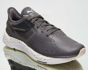 Puma Porsche Design Hybrid II Motorsport Men's Grey Lifestyle Sneakers Shoes