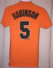Brooks Robinson Baltimore Orioles Jersey T-shirt size adult Small by Majestic