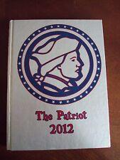 2012 Sullivan East High School Yearbook Bluff City, TN ~ The Patriot ~ Tennessee