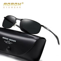 Aluminium HD Polarized Photochromic Sunglasses Men Chameleon Driving Eyewear New