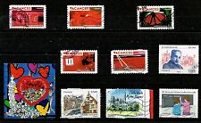 LOT DE TIMBRES FRANCE 2009/2010 DONT 5 SERIE (Bande carnet Vacances).