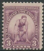 Scott# 718 - 1932 Commemoratives - 3 cents Summer Olympic Games