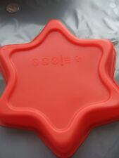 "Silicone 9""(23 cm) Large Star Mould/Cake Tin-Baking/ Bakeware/ Pan/Form"
