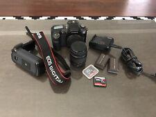 Canon EOS D60 6.3MP Digital SLR Camera - Black
