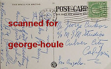 ROSA PONSELLE - LETTER - 1936 - SIGNED - SOPRANO - CUKOR - CARUSO - NY MET