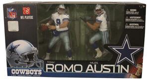 Tony Romo & Miles Austin Dallas Cowboys 2010 Sportspicks McFarlane Figure 32035
