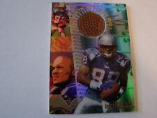 1996 Edge Terry Glenn NFL Game Ball Card New England Patriots (B83)