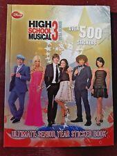 HIGH SCHOOL MUSICAL 3 SENIOR YEAR ULTIMATE STICKER BOOK By Modern Publishing NEW