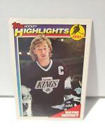 1991 Topps Highlight Hockey Card #524 Wayne Gretzky Los Angeles Kings