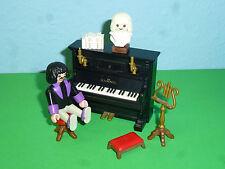 Salle de piano avec fonction de maison de poupée 5300 de 5551 Playmobil 059