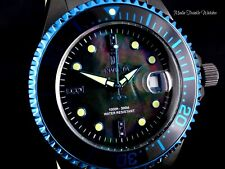 Invicta 47mm JT Grand Diver Blue Accent Ltd Ed Automatic Black Diamond Watch