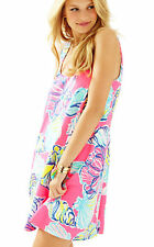 Lilly Pulitzer Carmel Royal Kir Pink Swept by the Tides Dress Size XS