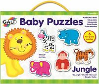 Galt BABY PUZZLE -JUNGLE Baby Toddler Toys And Activities BN