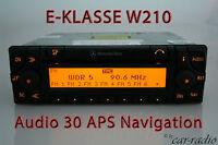 Original Mercedes Navigationssystem Audio 30 APS E-Klasse W210 S210 Navi Radio