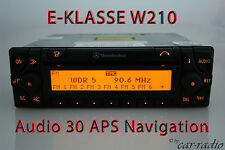 Original Mercedes Audio 30 APS W210 Navigationssystem E-Klasse S210 Navi Radio
