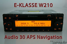 Original Mercedes Navigationssystem Audio 30 APS E-Klasse W210 S210 Navi Radio