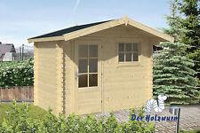 28 mm Gartenhaus 300x200 cm Gerätehaus Holz Holzhaus Schuppen Blockhaus Hütte