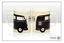 VW Split Screen Camper Black Technical Type 2 China Mug Officially Licensed