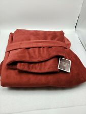 "Restoration Hardware  Luxury Plush Collection 45""x 65""  Red throw blanket New"