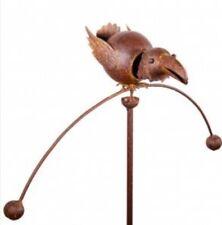 "Metall Ente /""Le Canard/"" Gartendeko Gartenstecker Skulpture"