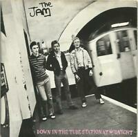 The Jam -Down In The Tube Station At Midnight 7 inch vinyl single error on label