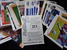 Panini Fußball Bundesliga Buli 96 Saison 95/96 Fußballbilder Sammelbild Sticker