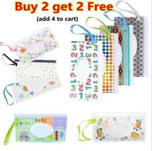 Wet Wipes Bag Tissue Box Accessories Case Cosmetic Pouch Stroller Baby Product