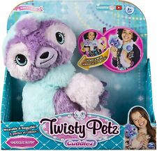 NEW OFFICIAL TWISTY PETZ SNUGGLEZ SLOTH SOFT PLUSH TOY