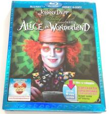 ALICE IN WONDERLAND (COFANETTO) DISNEY FILM BLU-RAY ITALIANO OTTIMO BD VENDITA