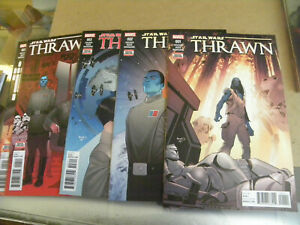 Marvel 2018 5 of 6 issues STAR WARS THRAWN 1 2 3 4 5  zm