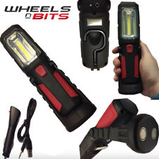 COB Led Rechargeable Inspection Torch lamp 2n1 Breakdown Farming Fishing Camping