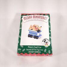 Hallmark Merry Miniatures Mickey Express Pluto's Cool Car Ornament 1998 New