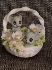 Josef Originals Mice in a basket