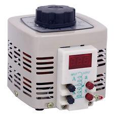 Hot ! AC 2A 500W Adjustable Voltage Transformer 0-250V Digital Voltage Regulator