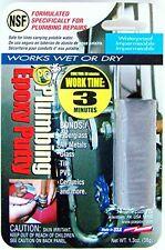 PC Products 21590 PC-Plumbing Moldable Epoxy Putty, 1 oz Stick, Concrete Gray