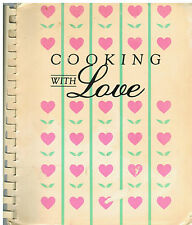 *ADRIAN MI VINTAGE *COOKING WITH LOVE COOK BOOK CPC PREGNACY COUNCELING MICHIGAN