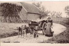 CPA - BELGIQUE - BRUXELLES - Attelage de chiens - Laitières.