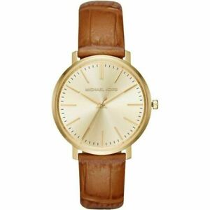 Michael Kors MK2496 Jaryn Gold Tone Dial Ladies Dress Watch
