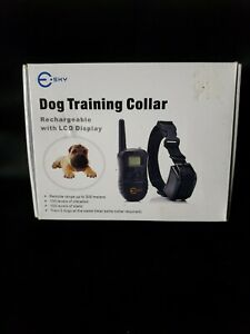 E-sky Dog Training Collar Rechargable with LCD Display FREE FAST SHIPPING!
