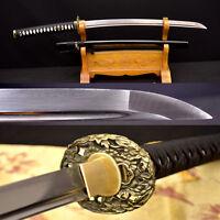 HANDMADE DAMASCUS Japanese Samurai Sword KO-KATANA Full Tang Very Sharp Blade