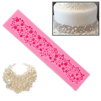 Silicone String Beads Mold Cake Decor Fondant Baking Mould Kitchen Tool·