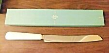 Lenox Wedding Ivory/gold wedding cake knife retails $35 (open box display item)