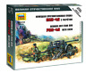 Zvezda 6257 - 1/72 Wargame Addon German Pak-40 with Crew - New
