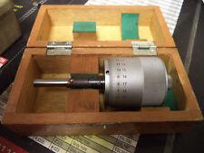 """Vintage Mitutoyo Micrometer Head 0-1"""" .0001 Resolution Model 152-372"""