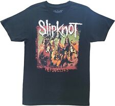 New Men's Slipknot 870621345 Heavy Metal Band Black T-Shirt Tee