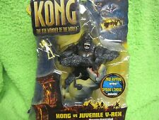 King Kong 2005 Movie Kong Vs Juvenile V-Rex 8th Wonder of the World Playmates