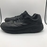 Brooks Addiction Walker Stability Walking Shoes Men's Size 12.5 W (4E) Black